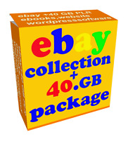 EBAY MAK - MONEY ebooks products softwares 40GB HUGE  +10 turnkey Wordpress Webs
