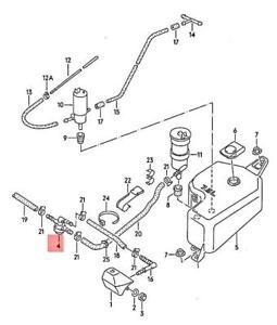 Genuine Retaining Valve Lhd VW Corrado Jetta Passat syncro Quantum 281955187