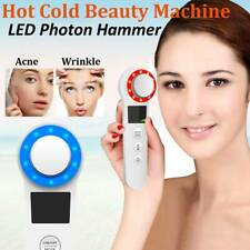Hot & Cool Skin Care Machine Therapy Vibration Light Photon Facial Beauty Tool