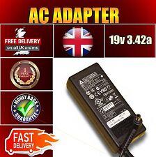 Asus K53E-SX320V K53SV-SX081 65w Battery Charger 5.5 x 2.5mm  19v. 3.42a