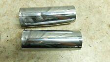 07 Yamaha XVS 650 XVS650 V Star Vstar lower bottom fork tube shock covers