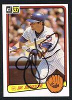 Jay Johnstone #561 signed autograph auto 1983 Donruss Baseball Trading Card