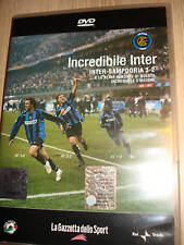 DVD INCREDIBILE INTER-SAMPDORIA 3-2 LA GRANDE RIMONTA FC INTERNAZIONALE