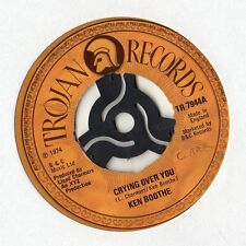 """Ken Boothe-Crying over you Unique 7"""" 1974"""
