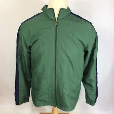 NOS Vintage 90s Nike Windbreaker Jacket Coat Lined Cell Headphone Port Running L