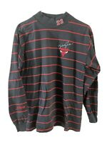 Boys Large Salem Sports Michael Jordan Turtle Neck Long Sleeve Black Striped 90s