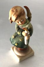 Goebel Hummel Figurine, Heavenly Angel Holding Candle, 21/0, TMK 3 1972-1978