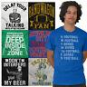 Sport Tee Shirt Graphic T Shirts For Mens Womens Sunday Fantasy Gym TShirts Tees