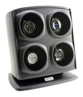 Versa Automatic Quad Watch Winder - Black - OTS-G088-BLACK