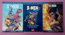 LOT 3 Collection 100% Marvel X Men 1/3/6