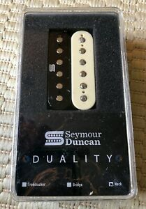 Seymour Duncan 11106-73-Z Duality Active Humbucker Neck Pickup Zebra Neck