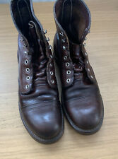RED WING IRON RANGER BOOTS AMBER HARNESS 8111 UK8 US9