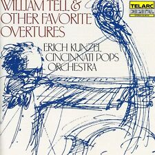 Cincinnati Pops Orch - William Tell & Other Favorite Overtures [New CD]