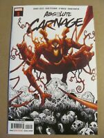 Absolute Carnage #1 Marvel 2019 Series 2nd Print Variant Venom Spider-Man 9.6 NM