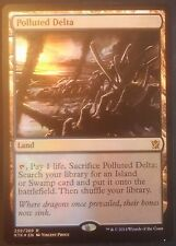 Estuaire Pollué PREMIUM / FOIL VO - English Tarkir Polluted Delta - Magic mtg