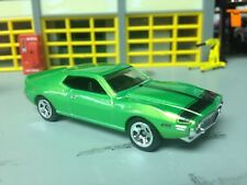 1/64  73 AMC Javelin AMX  in Pearl Green/Blk Int with a 401 and a 4 Speed