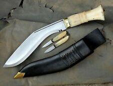 10 inches Blade Bone Handle service no 1 kukri-khukuri-Gurkha knife-knives-Nepal