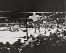 1962 SONNY LISTON vs FLOYD PATTERSON Glossy 8x10 Photo Heavyweight Title Print