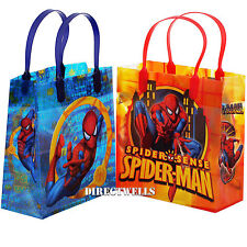 Spiderman Marvel Authentic Licensed Medium Party Favor Goodie Gift Loot 12 Bags