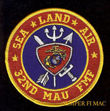 32ND MAU US MARINES Amphibious Unit PATCH USS BEIRUT Camp Lejeune NC BLT 2/81/8