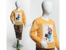Egghead Kid Fiberglass Mannequin Dress Form Display #Mz-Cd5