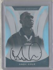 2017 Nobility soccer Autograph Andy Cole