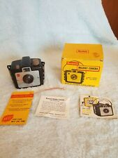 Vintage Kodak Brownie Holiday Box Film Camera Dakon Lens w/ box *Made In USA*