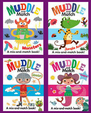 Muddle and Match Adventure,Monsters,Jungle,Imagine++ - 4 Mix & Match Board Books