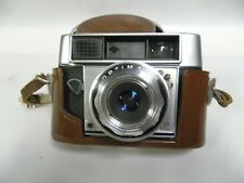 Vintage Agfa Germany Optima III S Compur Camera With Case (A7)