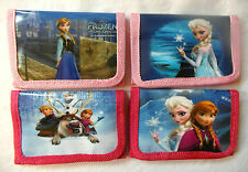 Children'S Purse / Wallet - Disney Frozen Anna Elsa Olaf Kristoff Sven