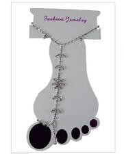Anklet Diamante Flower
