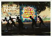 Graffiti by Revolt and Wild Style in Riverside Park NYC 1983 Postcard