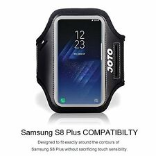 Samsung Galaxy S8 Plus Case Sport Exercise Armband Key Holder lightweight Black