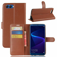 Cover Wallet Premium Brown For Huawei Honor View 10/V10 Case NEW