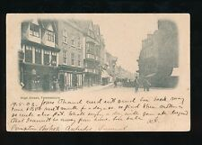 Gloucestershire TEWKESBURY High St Used 1903 u/b PPC