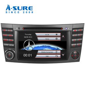 "Für Mercedes Benz E-Klasse W219 W211 GPS DVD 7"" HD Navi Autoradio Bluetooth DAB+"