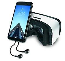 Alcatel Idol 4s Unlocked GSM LTE Smartphone-Dark Gray + VR Goggles + JBL Headset