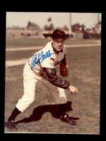 Bob Feller Hand Signed 8x10 Photo Autograph 3 Cleveland Indians