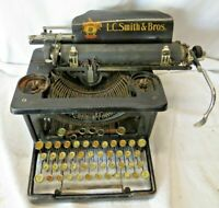 Antique Vintage L.C. Smith & Corona Typewriter FAST SHIPPING!
