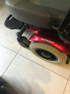 shoprider mobility scooter puma 14 heavy duty 3 yrs old with manual