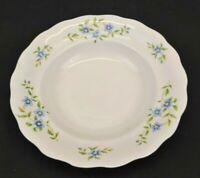 Vintage Embassy China Farolina Maria Blue Flowers Soup Salad Bowl Poland