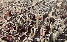 New York America USA AK 1922 Times Square Aerial View Luftblid Fliegeraufnahme