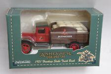 Ertl 1995 Anheuser Busch 1931 hawkeye Stake Truck Bank F123 DieCast - NEW E02C