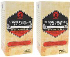 BLOOD PRESSURE BALANCE HIBISCUS MULBERRY LEAVES MORINGA GREEN HERB TEA- 40 BAGS