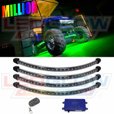 LEDGLOW MILLION COLOR LED GOLF CART LED UNDERGLOW LIGHT KIT w 108 LEDs 12v