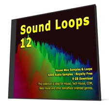 Sound Loops 12 House Collection 6300 Wav Loops Sample Packs Fl Studio Logic Pro