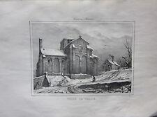 1838 EGLISE DE VEAUCE Émile Sagot Achille Allier Desrosiers Gannat Montluçon
