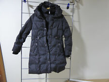 DKNY  Long Quilted Puffer Down Coat Size Medium Pre Owned