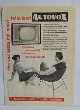D12> Pubblicità CLIPPING ANNO 1959 - TELEVISORI AUTOVOX