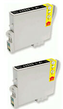 2 Tintas Negro para EPSON C64 C66 C84 C86 CX3600 CX3650 CX4600 CX6400 CX6600